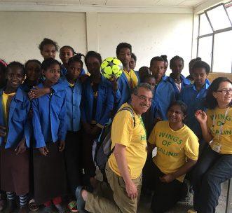 Ethiopian school wings of healing