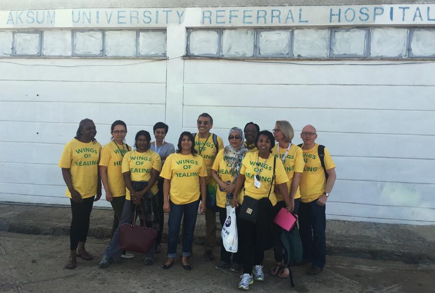 2017 team in Africa